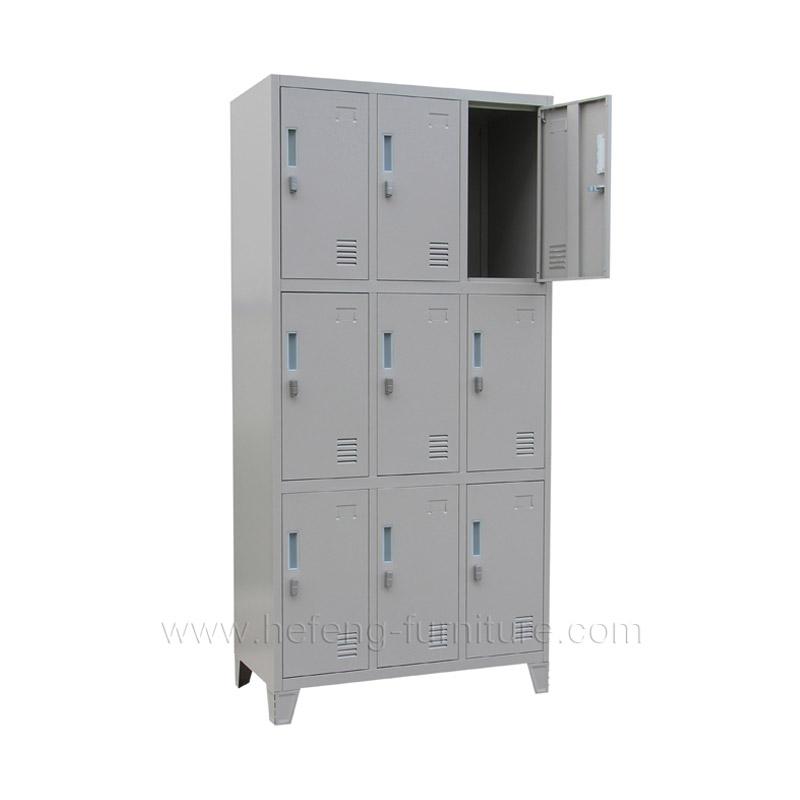 Железные шкафы для раздевалок