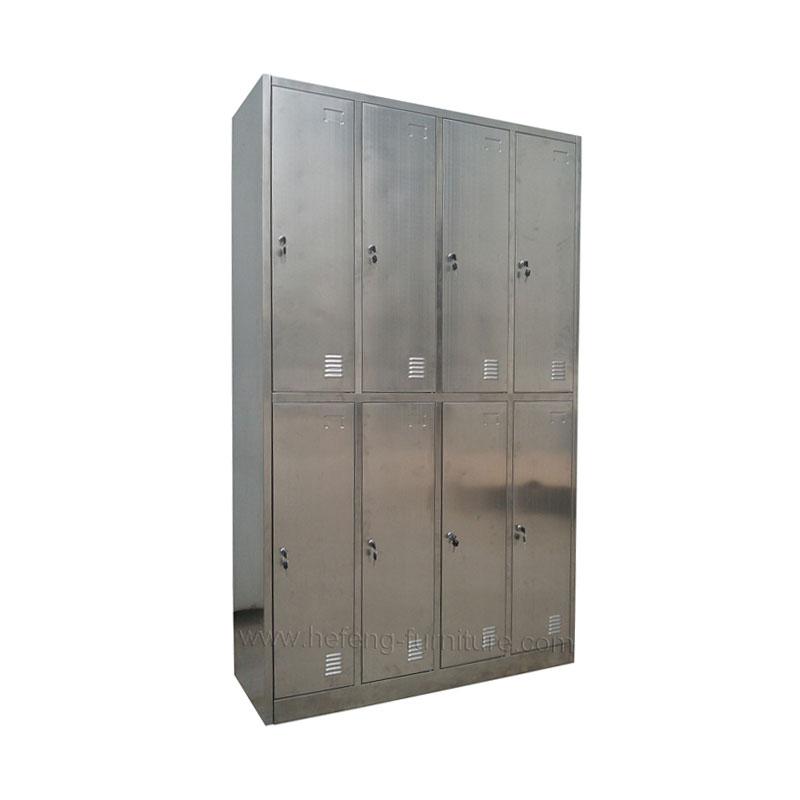 Шкаф для одежды из нержавеющей стали