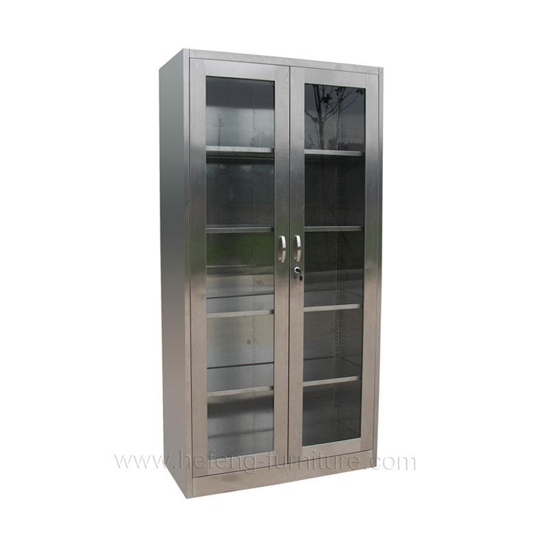 Шкаф 2-створчатый из нержавеющей стали