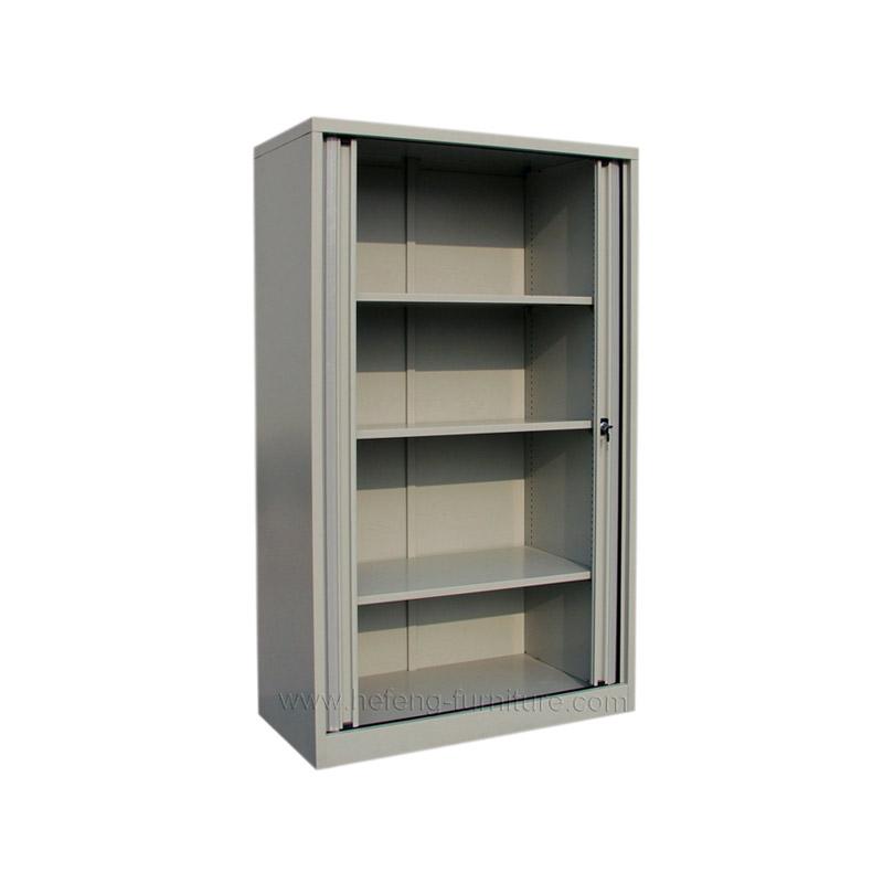 Металлический шкаф с дверьми-жалюзи
