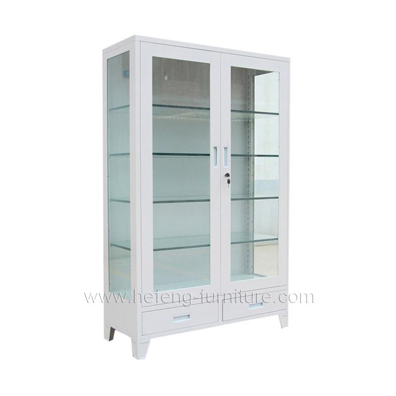 Шкафы стеклянные